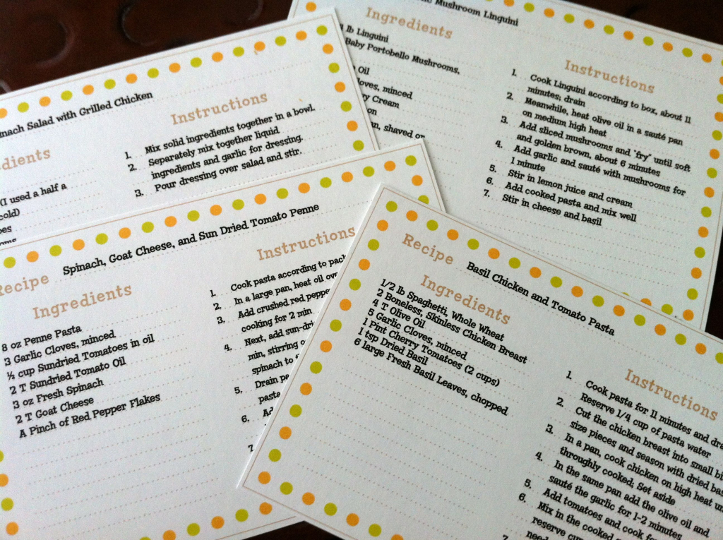 Recipe Cards | Things To Create | Recipe Cards, Printable Recipe | Printable Recipe Card Templates Martha Stewart