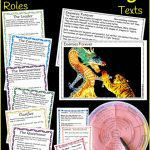 Reciprocal Reading Texts And Task Cards For Literacy Centre | Reciprocal Reading Cards Printable