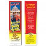 Red Ribbon Week   I Pledge To Be Drug Free! Bookmark | Free Printable Drug Free Pledge Cards
