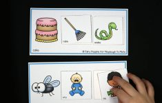 Rhyming Picture Cards Printable