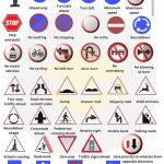 Road Signs, Traffic Signs, Street Signs With Pictures | Vocabulary | Printable Road Signs Flash Cards