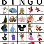 Robbygurl's Creations: Printable Disney Bingo Cards! Tons Of | Printable Bingo Cards 2 Per Page