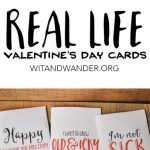 Sarcastic Valentine's Day Cards   Free Printables   Our Handcrafted Life | Free Printable Valentine Cards For Husband