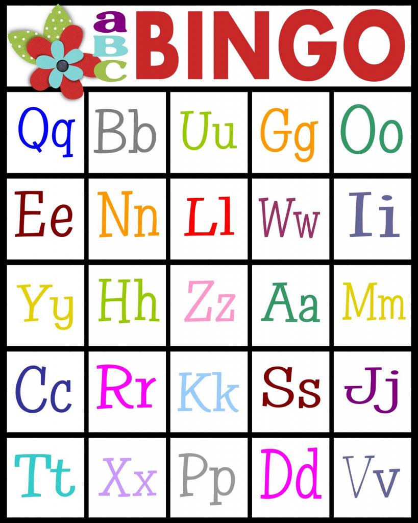 Sassy Sanctuary: Abc's Bingo- Free Printable! | Abc Bingo Cards Printable