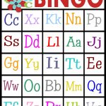 Sassy Sanctuary: Abc's Bingo  Free Printable! | Abc Bingo Cards Printable