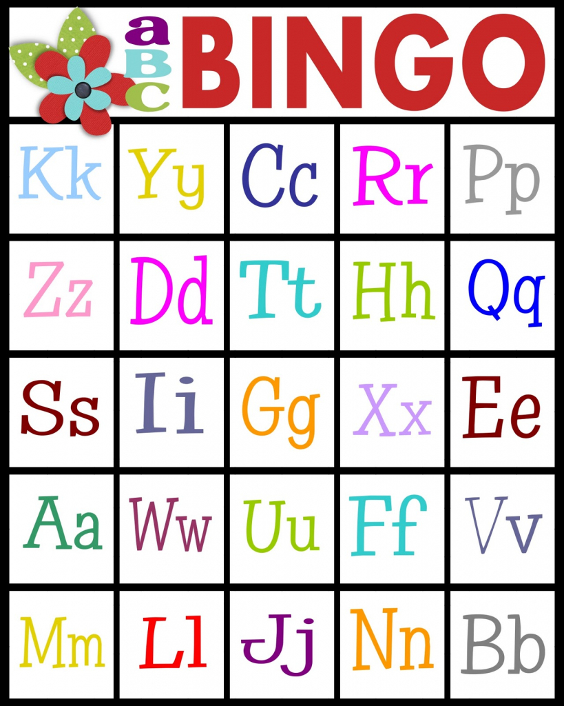 Sassy Sanctuary: Abc's Bingo- Free Printable! | Free Printable Alphabet Bingo Cards