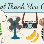 School Thank You Cards For Custodians, Librarians And Other Staff | Printable Thank You Cards For Employees