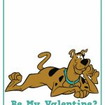 Scooby Doo Custom Valentine's Day Card X4 Printable File | Etsy | Printable Scooby Doo Valentine Cards