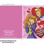Scott Neely's Scribbles And Sketches!: Print Out Your Own Scooby Doo | Printable Scooby Doo Valentine Cards