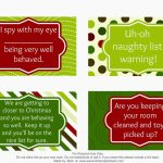 Second Chance To Dream   Free Printable Elf On The Shelf Activity Ideas | Elf On A Shelf Printable Cards
