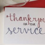 Send A Thank You Card To Our Troops | Diy Notecards | Free Printable | Military Thank You Cards Printable