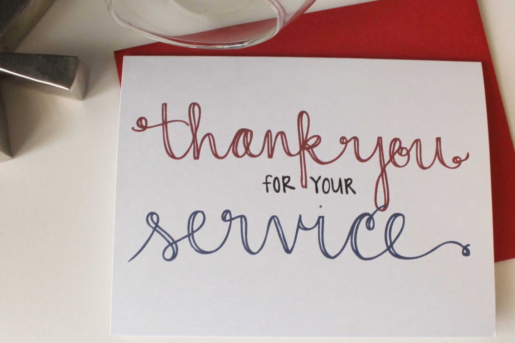 Send A Thank You Card To Our Troops   Diy Notecards   Free Printable   Military Thank You Cards Printable