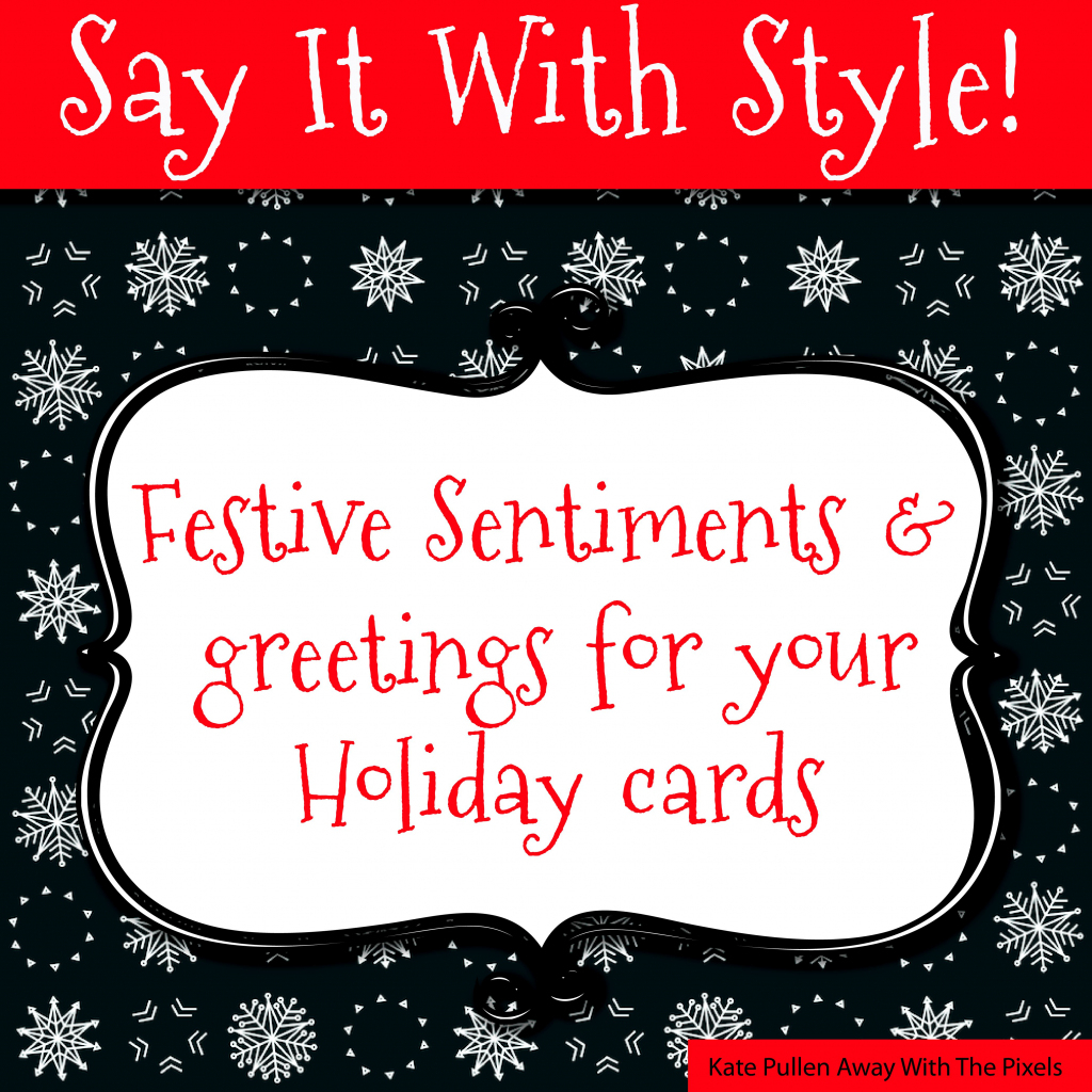 Sentiments And Greetings For Christmas Cards | Free Printable Christmas Cards With Photo Insert