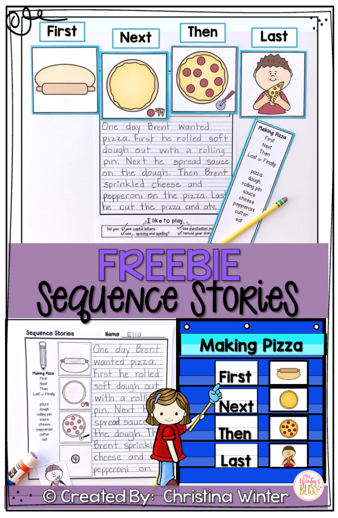 Sequence Writing Prompts Free | Fabulous First Grade! | Sequencing | Printable Sequencing Cards For First Grade