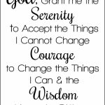 Serenity Prayer Printable | Christian Counseling And Coaching | Printable Serenity Prayer Cards