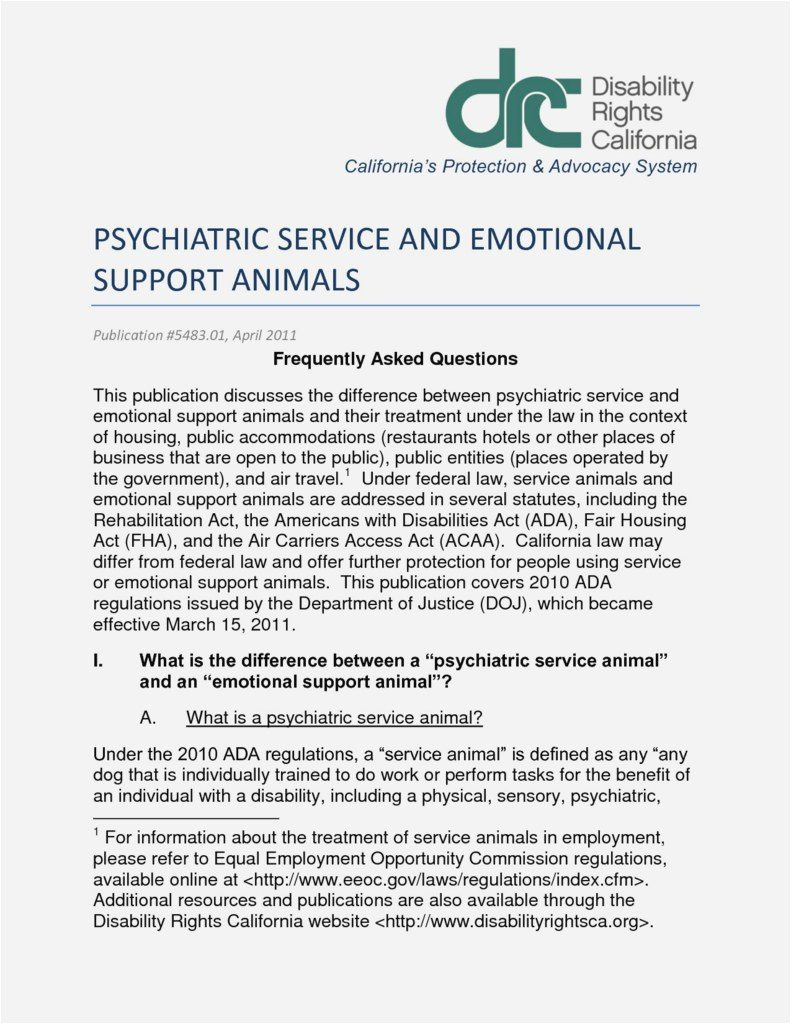 It is an image of Critical Printable Ada Service Dog Card