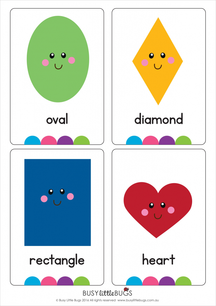Shape Flash Cards | Shapes | Vocabulary | Kids Activities | Printable Shapes Flash Cards
