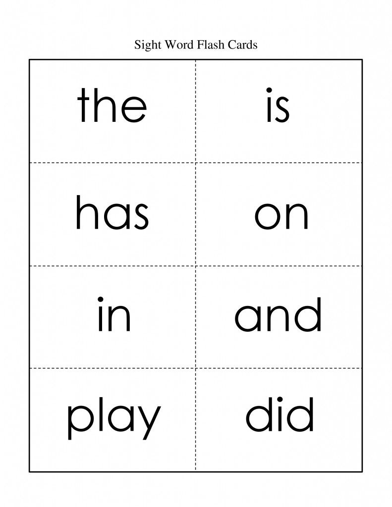 Sight Word Flash Cards, Free | Whysospecial Freebies | Sight Word | Kindergarten Sight Words Flash Cards Printable