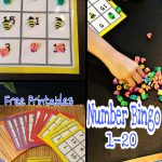 Simple Math Bingo For Young Kids. Numbers 1 20, This Game Is A Great | Math 24 Printable Cards