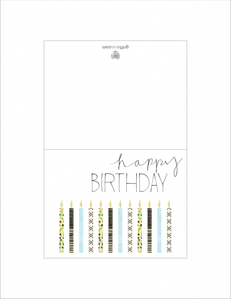 Simple Printable Birthday Cards - Canas.bergdorfbib.co | Pig Birthday Cards Printable