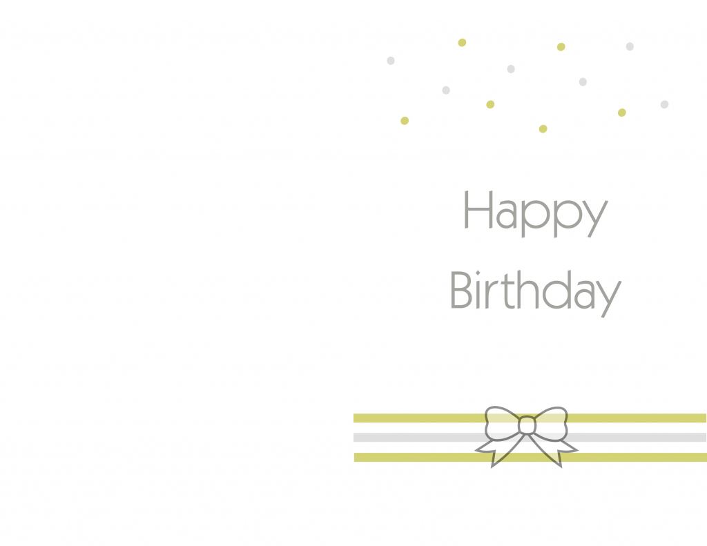 Simple Printable Birthday Cards - Kleo.bergdorfbib.co | Free Printable Birthday Cards For Your Best Friend