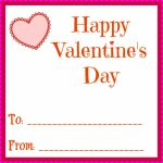 Simple Printable Valentines Day Cards For Your Kids Classrooms | Happy Valentines Day Cards Printable