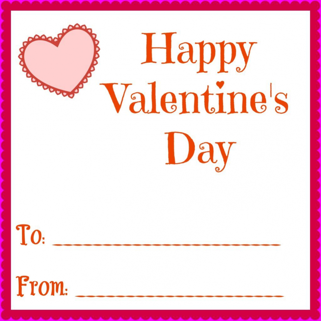 Simple Printable Valentines Day Cards For Your Kids Classrooms   Happy Valentines Day Cards Printable