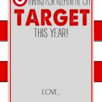 Six Instant Download Teacher Gift Card Printables   Crisp Collective | Printable Target Gift Card