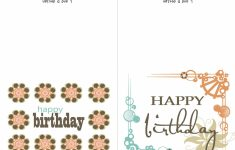 Small Printable Birthday Cards | Zwonzorg | Free Printable Birthday Cards For Adults