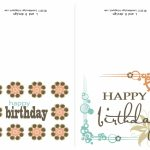 Small Printable Birthday Cards | Zwonzorg | Printable Birthday Cards For Dad