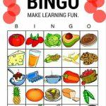 Spanish Food   Bingo | Español | Elementary Spanish, Spanish Lessons | Free Printable Spanish Bingo Cards