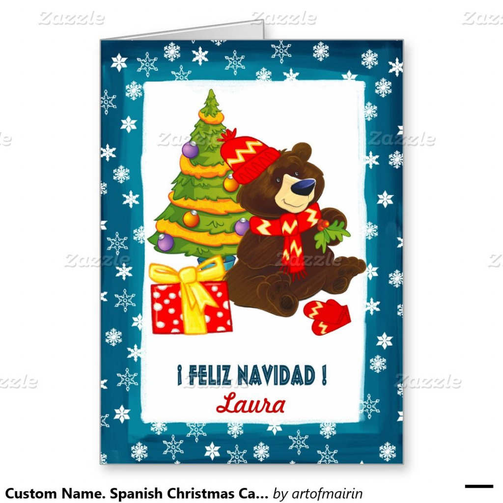 Spanish Printable Christmas Cards Free - Google Search | Spanish | Free Printable German Christmas Cards