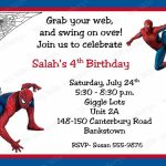 Spiderman Birthday Invitations Personalized. Free Printable | Free Printable Personalized Birthday Invitation Cards