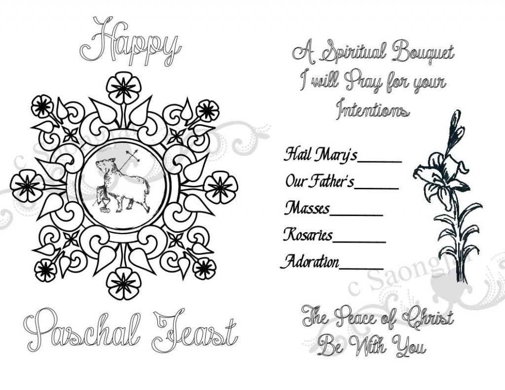 Spiritual Bouquet Cards Printable Pdf | Etsy | Printable Spiritual Bouquet Cards