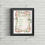 Spiritual Bouquet Gift Card Free Printables | Spiritual Bouquet | Printable Spiritual Bouquet Cards