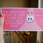 Spongebob Valentine Cards On The Hunt | Spongebob Valentine Cards Printable