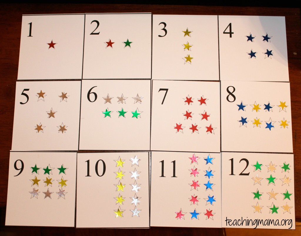 Star Number Cards - Teaching Mama | Free Printable Number Cards