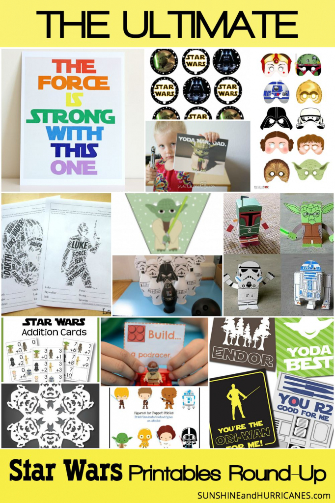 Star Wars Printables An Out Of This World Round-Up | Star Wars Printable Cards Free