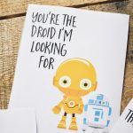 Star Wars Valentine's Day Cards For Kids   Our Handcrafted Life | Printable Star Wars Cards