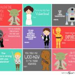 Stars Wars Printable Valentines | Valentine's Day | Starwars | Printable Star Wars Cards