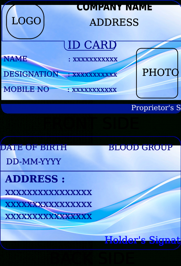 State Id Card Template - Kleo.bergdorfbib.co | Free Printable Id Cards Templates