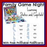States And Capitals Flash Cards Printable   Printable Cards | State Capitals Flash Cards Printable