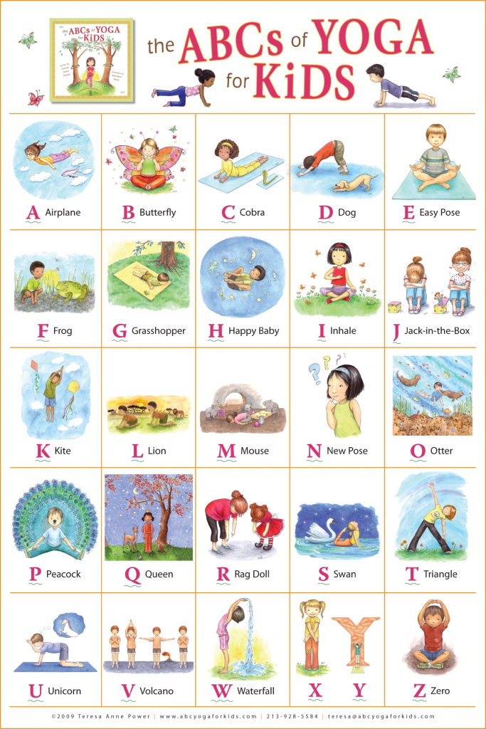 Store - The Abcs Of Yoga For Kids | Printable Yoga Flash Cards For Kids