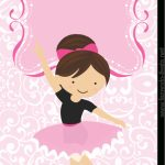 Sweet Ballerina Free Printable Card Or Candy Bar Label. | Ballerina | Free Printable Dance Recital Cards