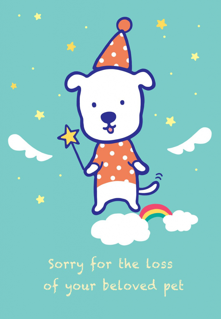 Sympathy #card For The Loss Of A #pet - Free Printable | Sympathy | Free Printable Sympathy Card For Loss Of Pet