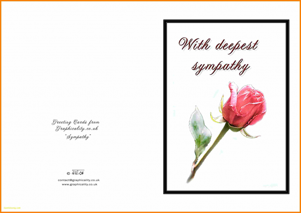 Sympathy Card Free Printable - Canas.bergdorfbib.co | Printable Pet Sympathy Cards