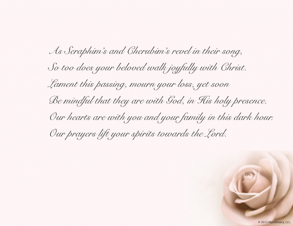 Sympathy Card Verses - Under.bergdorfbib.co | Thank You Sympathy Cards Free Printable
