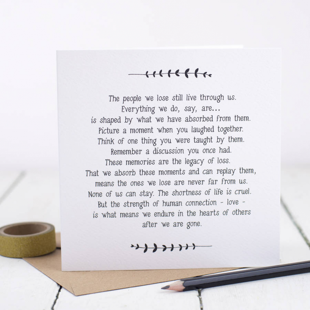 Sympathy Cards | Notonthehighstreet | Free Printable Sympathy Card For Loss Of Pet