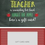 Teacher Appreciation Gift Card Holder   Lil' Luna | Free Printable Teacher Appreciation Greeting Cards