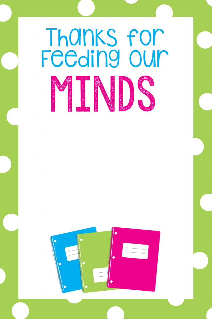 Teacher Appreciation Gift Card Holders | Skip To My Lou - Free | Free Teacher Appreciation Week Printable Cards